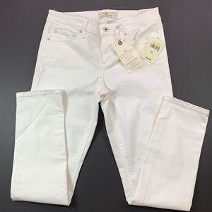 Lucky Brand Lolita Skinny White Denim Jeans